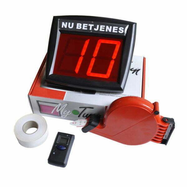 Billigt MyTurn nummersystem