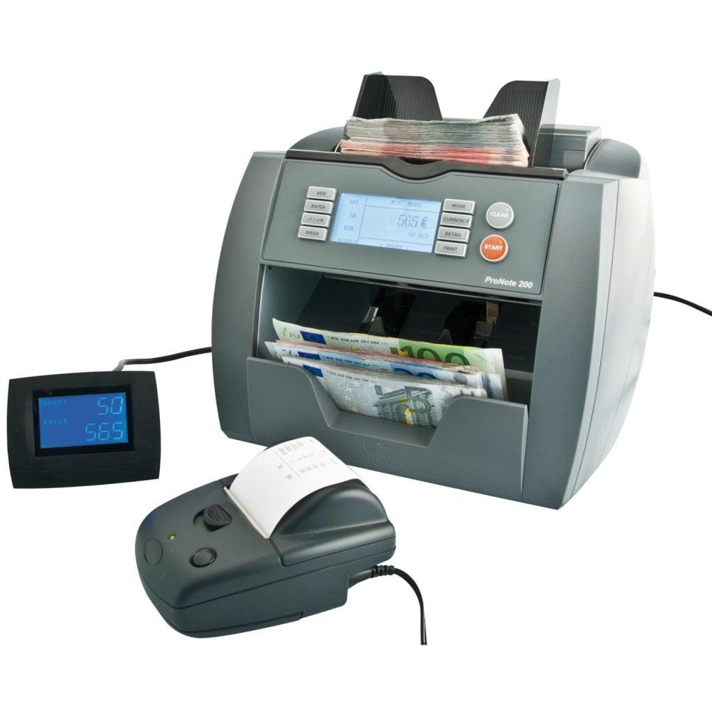 ProNote 200 Display og printer