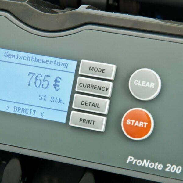 ProNote 200 Betjening